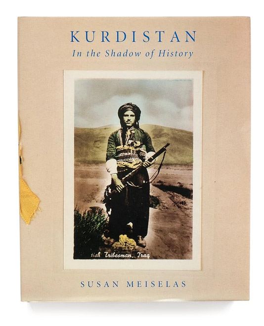Titelseite Buch: Kurdistan in the Shadow of history. Susan Meiselas