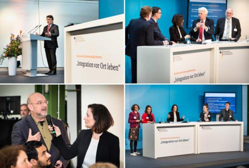 """Kommunalkonferenz zum Thema """"Integration vor Ort leben"""" Depot Dortmund - Foto © Dietrich Hackenberg"""