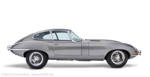 Jaguar-Automobil - Fotografiert für einen Museumsprospekt - Foto © Dietrich Hackenberg und Joe Kramer