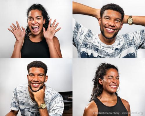 Portraitfotos für die App eines Szenegetränks. Foto © Dietrich Hackenberg