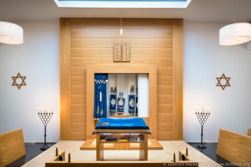 Thoraschrein in der Synagoge der Jüdischen Gemeinde Gelsenkirchen - Foto © Dietrich Hackenberg