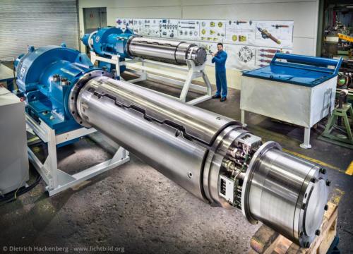 Haspel - Gustav Wiegard Maschinenfabrik, Witten - Foto © Dietrich Hackenberg